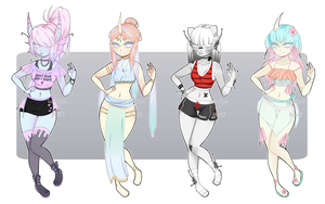 Collab adopts: Pastel Dextro CLOSED by Lunathyst