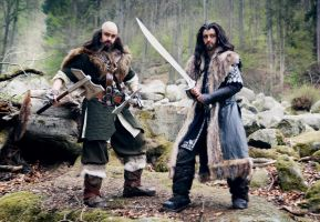 The Hobbit: The King and his Guard by Revelio