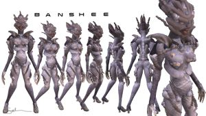 Banshee from Masseffect by Salooverall