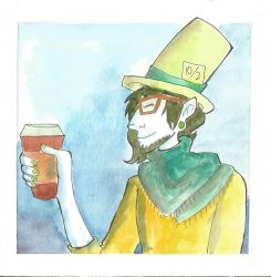 Madoc and his Coffee by Jopale-Opal
