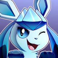 Glaceon by LucarioOcarina