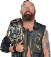 Eric Young NXT Tag-Team Champion 2017 PNG by AmbriegnsAsylum16