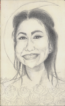 Xochitl, No. 3 (in pencil) by Debit
