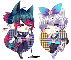 CLOSED Adopt Collab: Idols! Set Price by Riukkii