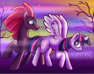 Fall Dawn by runecoon