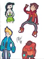 WE'RE THE BRAVEST WARRIORS by zchick121