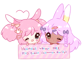 ENDED | Heartdoll 48 hr FREE MYO event by Valyriana