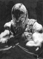 Tom Hardy Bane by donchild
