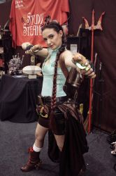 Lara Croft Steampunk by GPhoenix