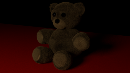 A teddy bear by TallPaul3D