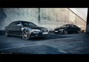 Audi S4 - German rivals by dejz0r