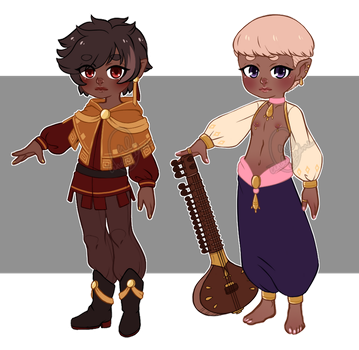Fantasy Elf Adopts (SET PRICE: CLOSED) by cindyjeans-designs