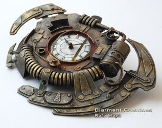 Steampunk Clock XXII by Diarment
