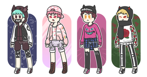 harajuku boys [1/4 open] - reduced price! by hyungmilk