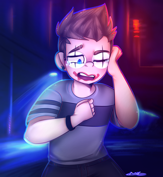 Uh-oh (H2ODelirious) by appleminer