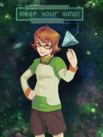 Be smart with Pidge by Kathyfish
