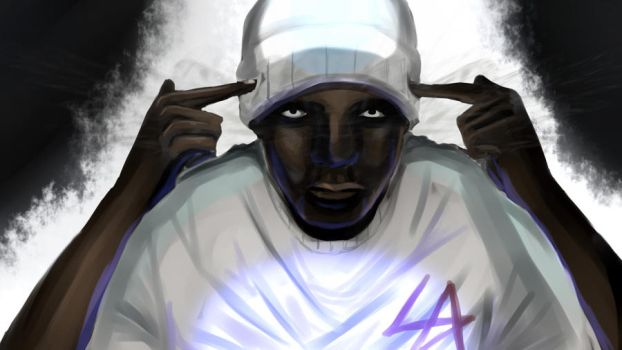 Ill Mind of Hopsin Painting by AtrumAbyss13
