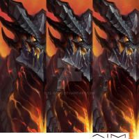 Deathwing Progress by XL-Kong