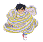 C: Wrapped up Ghost Boy by Phantassel