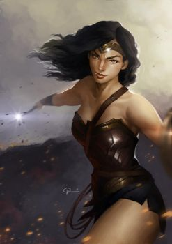 Wonder Woman by hifarry
