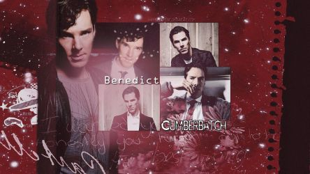 Benedict Cumberbatch wallpaper 12 by HappinessIsMusic