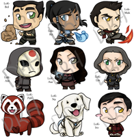 Lok - Collection 1 by black-angel-kitteh