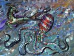 Capricorn and Octopus by StephanieSmall