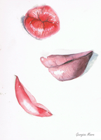 Lip Study by not-quite-right