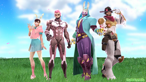 MMDxOverwatch: Easter/Spring Models! by DesertDraggon