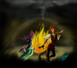 Bonfire Dance by Absolute-Sero