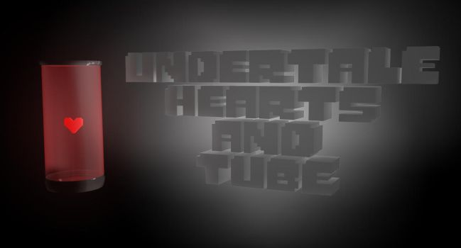 Undertale hearts and tube ~DL!~ by sakuraD28