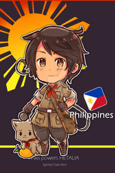 Hetalia : Philippines by SPINNY-chair-HERO