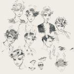 lanque sketchpage by knightic