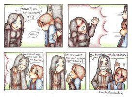 Kahlan with PMS by Lillymonkey