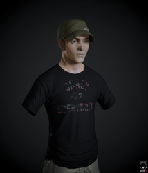 Eminem - real time character (WIP) by PatrickvanR