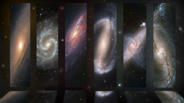 The Hall of Galaxies. by Ryse95