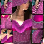 PINK for DY BELLE II for V4 by DiYanira
