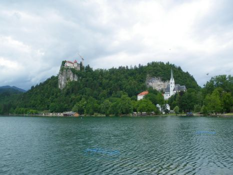 Bled's castle by Moriquesse