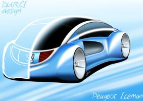 Peugeot IceMan concept - back by DURCI02
