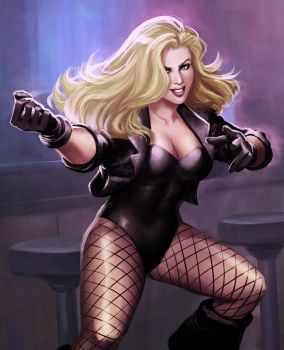 Black Canary by irvintustin