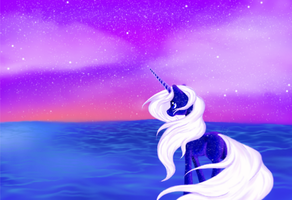 As Night Ends by WhiteWing1
