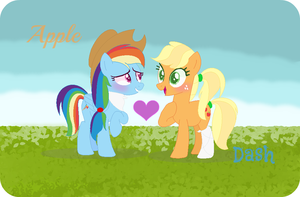 Appledash The Best Ship Ever!!! by CloudySunshine1914