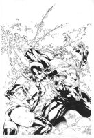 Cover Red Lantern 05 by Ed-Benes-Studio