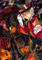 ::Trip to Hell.its halloween:: by Nami--chan