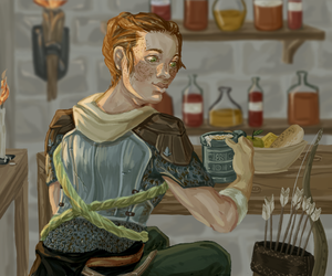 Harding in Tavern by yakisyak