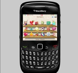 Blackberry theme by claustrawberry