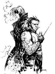 Gambit and Wolverine smoke you by aaronminier