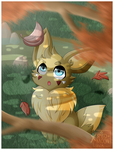 [Speedpaint] .:Fall:. by XRed-moon
