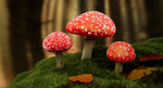 Recreation of a forest scene - Unreal Engine by MiekeYperman