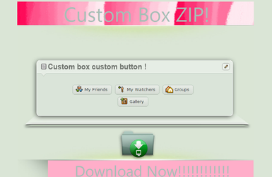 Custom Box Buttons! by Mlp-Adict